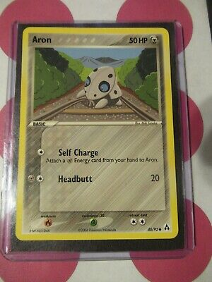 Pokemon Aron 48/92 Ex Legend Maker Common *combined shipping*