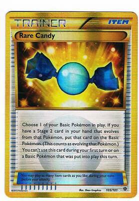 Rare Candy HOLO full art 105/101 Plasma Blast ENG B & W pokemon trainer