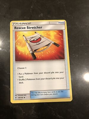 Guardians Rising Rescue Stretcher 130/145 Trainer Set Pokemon Trading Card
