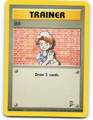 118/130 | Bill | Base Set 2 | Pokemon Card | Near Mint