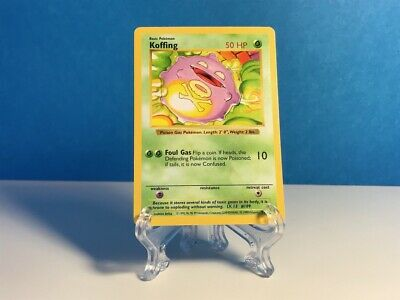 1999 Koffing 51/102 SHADOWLESS - Pokemon Base Set - EX to NM+ / Never Played!