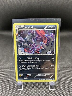 Yveltal RC16/RC32 XY Generations Radiant Collection Pokemon Rare Holo Card NM/M
