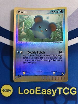 MARILL - 68/100 - EX Sandstorm - Reverse Holo - Pokemon Card - NM