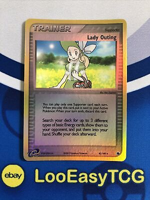 Pokemon Ruby & Sapphire Trainer Lady Outing 83/109 Reverse Holo NM!!!
