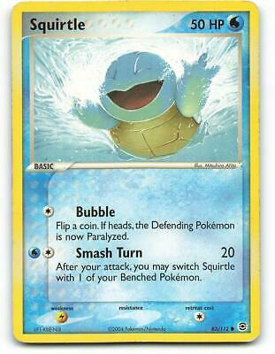 83/112 | Squirtle | EX FireRed LeafGreen | Pokemon Card | Played