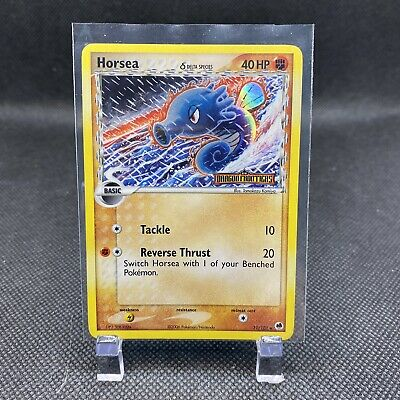 LP Horsea 31/101 Holo Stamped EX Dragon Frontiers Pokemon Card TCG