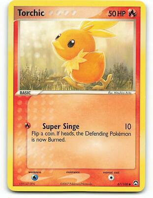 67/108 | Torchic | EX Power Keepers | Pokemon Card | Excellent