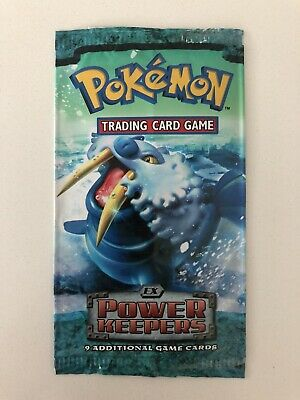 Pokemon Trading Card Game EMPTY EX Power Keepers Walrein Booster Pack Wrapper