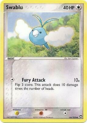 Swablu - 66/108 - Common NM Power Keepers Pokemon 2B3