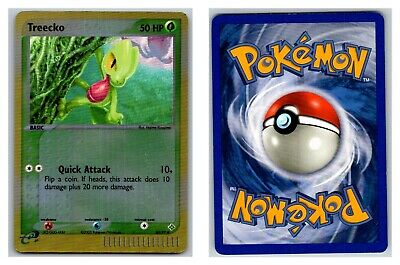 Treecko 80/97 REVERSE HOLO Ex Dragon Pokemon Card Exc-LP Condition