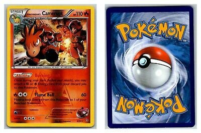 Team Magma's Camerupt 2/34 REVERSE HOLO Double Crisis Pokemon Card Exc-LP Cond