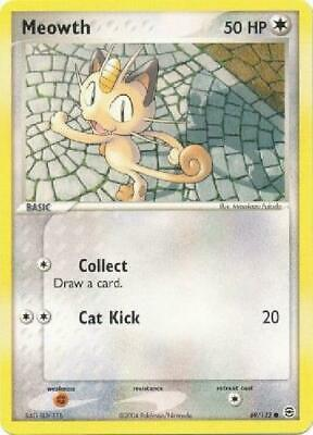 Meowth - 69/112 - Common PL FireRed & LeafGreen Pokemon 2B3