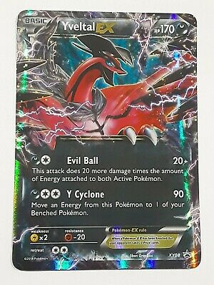 Pokemon Yveltal EX - Black Star Promo Set XY08 Rare Holo