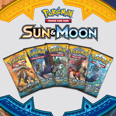 Pokemon cards Sun & Moon Base /149 Single cards up to 50% Discount