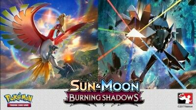 Pokemon cards Burning Shadows /147 Single cards up to 50% Discount