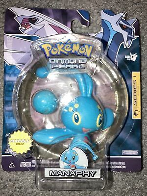 Pokemon Diamond And Pearl Series 1 Manaphy Figure With Marble!