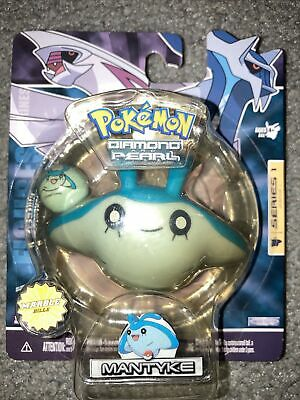 Pokemon Diamond And Pearl Series 1 Mantyke Figure With Marble!