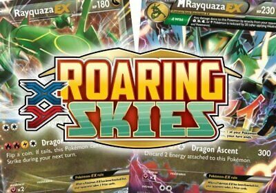 Pokemon cards Roaring Skies /108 Common Uncommon Rare Singles up to 50% Discount