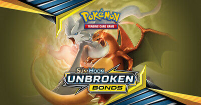 Pokemon cards Unbroken Bonds /234 Common Uncommon Rare Singles up to 50% Discoun