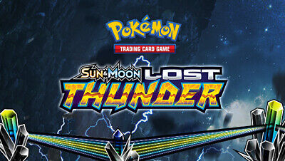 Pokemon cards Lost Thunder /214 Common Uncommon Rare Singles up to 50% Discount