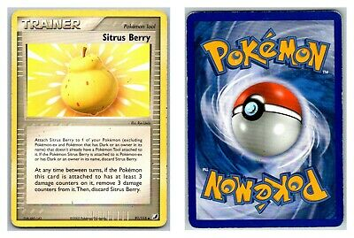 Sitrus Berry 91/115 Unseen Forces Pokemon Card HP Condition