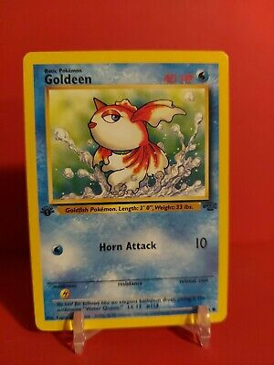 1999 WOTC Pokemon 1st Edition Jungle Set Goldeen #53/64  🔥🔥