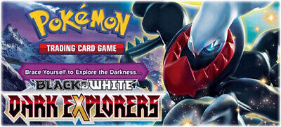 Pokemon cards Dark Explorers /108 Singles up to 50% Discount NEW STOCK ADDED