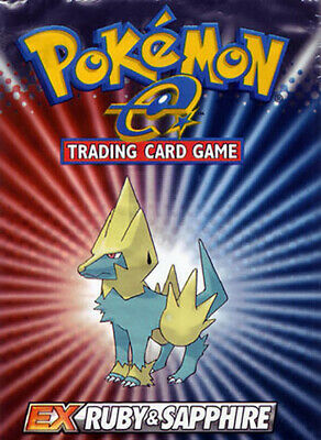 Pokemon cards EX Ruby & Sapphire /109 Single cards up to 50% Discount