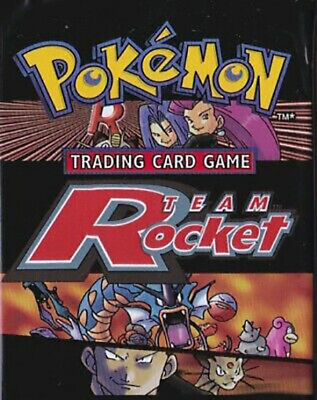 Pokemon cards Team Rocket /82 Single cards up to 50% Discount