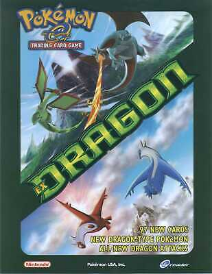 Pokemon cards EX Dragon /97 Single cards up to 50% Discount