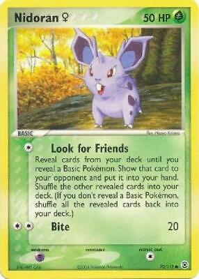 Nidoran F - 70/112 - Common NM FireRed & LeafGreen Pokemon 2B3