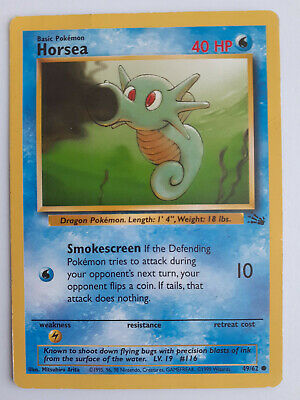 Pokemon || Horsea || Fossil || 49/62 || Common