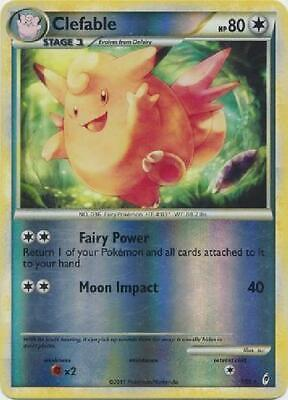 Clefable -1/95 - Holo Rare Reverse Foil new Call of Legends Pokemon 2B3