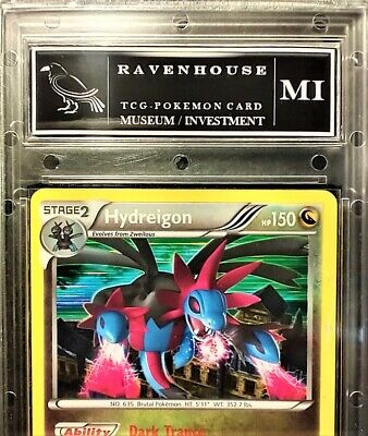 2012 Pokemon Hydreigon 97 Holo Mint Rare Dragons Exalted PSA BGS - 1st Edition