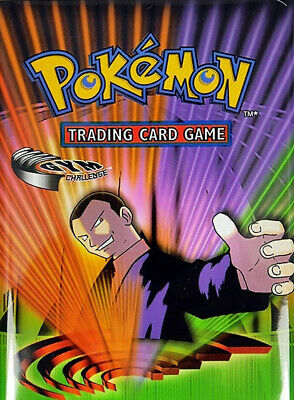 Pokemon cards Gym Challenge /132 Single cards up to 50% Discount