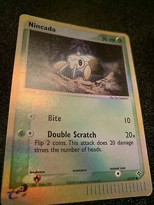 Pokemon - NINCADA 67/97 - Ex Dragon - Reverse Holo - NM