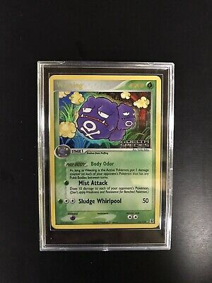 Pokemon Card- Weezing Rare Holo 33/113 EX Delta Species