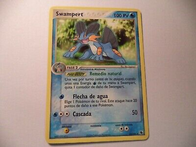 Bay Pokemon Card Ex Ruby And Sapphire Swampert 23/109*  In Good Condition