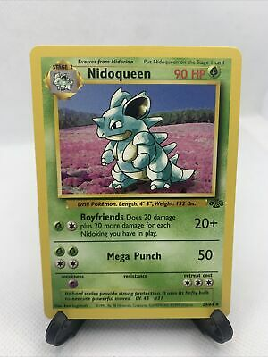 Rare - Jungle - Nidoqueen 23/64 - Pokemon 1999 WOTC - NM