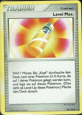 Pokemon Card Trading Card Game Platinum No. 107/127 Level Max