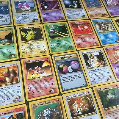 Gym Heroes Set - Choose your Pokemon Cards - NM /132