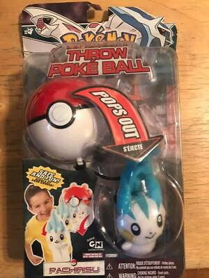 Pokemon Diamond & Pearl DP Series 2 Pachirisu Throw Poke Ball Plush