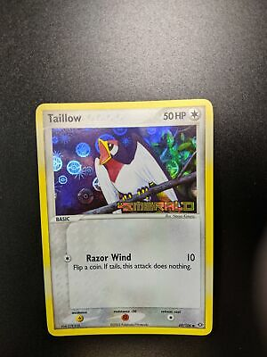 Pokemon EX Emerald Taillow Reverse Holo Stamped 68/106 (Near Mint) *SC3