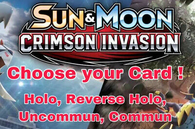 Pokemon Cards Crimson Invasion Select Your Card ! Pick Your Card ! All NM Single