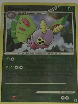 Dustox 25/130 Diamond & Pearl REVERSE HOLO NM Pokemon