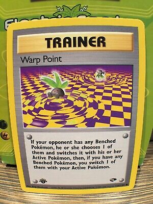 PSA Worthy 1st Ed. Warp Point 126/132 Gym Challenge Pokemon Card MINT