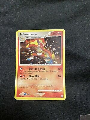 Pokemon Infernape 5/130 Diamond & Pearl Rare Holo - Near Mint