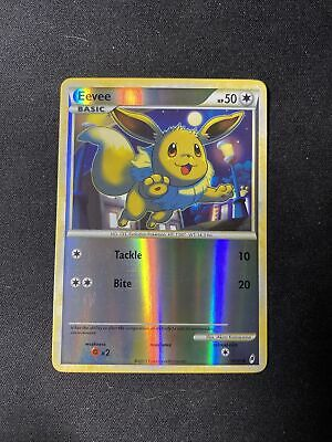 1x Eevee 56/95 Call of Legends Reverse Holo Pokemon Card NM-LP