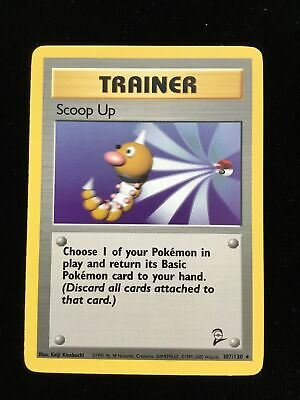 Pokemon Card - Base 2 Set 107/130 - SCOOP UP (rare) - NM/Mint