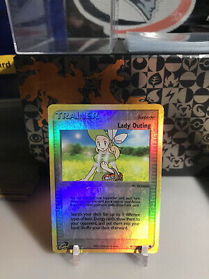 Lady Outing 83/109 REVERSE HOLO Ruby and Sapphire Pokemon Card Lp-Mp